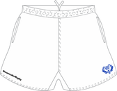 Spokane SRS Pocketed Performance Rugby Shorts, White