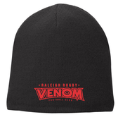 Raleigh Venom Fleece-Lined Beanie, Black