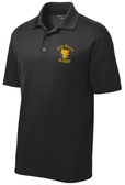 Old Gaelic Performance Polo, Black