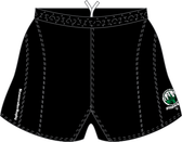 Frederick 7s SRS Performance Rugby Shorts, Black