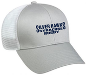 Syracuse Silver Hawks Mesh-Back Hat, Light Gray