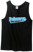 Delmarva Rugby Tank Top, Black