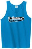 Delmarva Rugby Tank Top, Blue