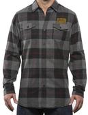 Forge Men's-Cut Button-Down Flannel Shirt