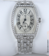 Limited Edition Franck Muller Diamond Chronometro Watch