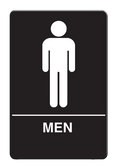 IS1001-16 Restroom Signs Palmer Fixture