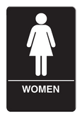 IS1003-16 Restroom Signs Palmer Fixture