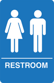 IS1005-15 Restroom Signs Palmer Fixture