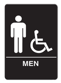 IS1002-16 Restroom Signs Palmer Fixture