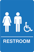 IS1006-16 Restroom Signs Palmer Fixture