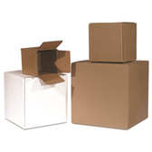 Cube Boxes|4 x 4 x 4 200# / 32 ECT 25 bdl./ 2500 bale|BS040404