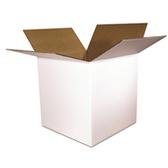 S-4881 White Boxes|4 x 4 x 4 White 200#  32 ECT 25 bdl. 2500 bale|BS040404W