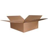 S-4398, S-20470 Flat Boxes|18 x 18 x 6 200#  32 ECT 25 bdl. 250 bale|BS181806