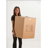 Deluxe Moving Boxes|Large Moving Box 4.5 cu. ft.18 x 18 x 24 32 ECT Printed Room Locator Check-Off Box|BS181824LMB