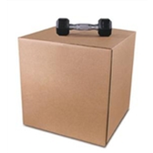 S-4764 Singlewall Heavy-Duty Boxes|24 x 12 x 12 275#  44 ECT 25 bdl. 250 bale|BS241212HD
