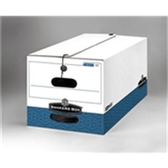 "String & Button File Storage Boxes|String and Button Box - 24 x 12 x 10"" Letter Size (12case) - #563128  FEL00704