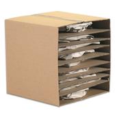 "Corrugated Layer Pads|8 38 x 10 78"" Corrugated Layer Pad|BSSP810"