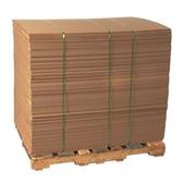 "Corrugated Sheets|48 x 96"" 44ECT Corrugated Sheet (250Bale)|BSSP4896HD"