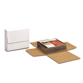 "BSM1BKSS Self-Seal Corrugated Bookfolds 11 1/8 x 8 5/8 x 2"""