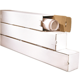 "Corrugated Mailing Tubes BSM5548 5 x 5 x 48"" Square T"