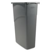 Trash Containers 100244 23 GALLON SLIM JIM C