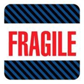 "Fragile Labels LABDL1540 #DL1540 4 x 4"" Fragi"