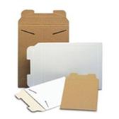 "White Tab-Lock Paperboard Mailers ENVRM5W 9 3/4 x 12 1/4"" #5W-"