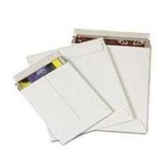 "White Self-Seal Booklet Style Paperboard Mailers ENVRM3WSS 11 x 13 1/2"" #3WSS W"