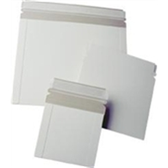 "ENVRM3SS White Self-Seal Catalog Style Paperboard Mailers 13 1/2 x 11"" #13PS-1"