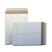 "Stayflats® Plus White Top-Loading Self-Seal Mailer ENVRM2PSWSS 9 x 11 1/2"" #2PSW Wh"