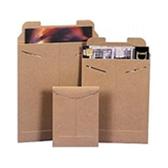 "Stayflats® Original Kraft Tab-Lock Mailer ENVRM27SFK 22 x 27"" #27SFK Kraf"