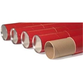 "Telescoping Storage Tubes TEL3024RED 3 x 24"" Red Telescop"
