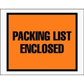 "ENVPQ22 Packing List Enclosed Envelopes 7 x 5 1/2"" Full Face"