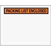 "Packing List Enclosed Envelopes ENVPQ19 7 x 5 1/2"" Panel Fac"