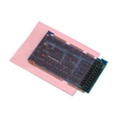 "PBAS1085 Anti-Static Flat Poly Bags, 4 Mil 5 x 8"" 4 Mil Pink He"