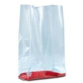 "PB1380 Gusseted Poly Bags - 1 Mil 8 x 3 x 15"" 1 Mil Gu"