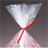 "PLT8R PlasticTwist Ties 8"" x 3/16"" Red Plast"
