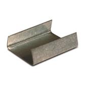 "SSS58OPEN Steel Strapping Seals - Regular Duty 5/8"" Open/Snap On Re"