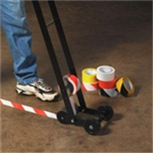 "Safety Marking Tape TSTT9336BW 3"" X 18 yds. 6 Mil B"