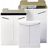 "Stayflats® Original White Tab-Lock Mailer ENVRM9SFW 6 x 6"" #9SFW White T"