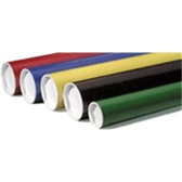"Colored Mailing Tubes P2006BL 2 x 6"" Black Tube (5"