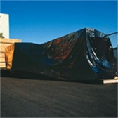 CF403B Heavy Duty Black Poly Sheeting, 4 MIL 3 x 100` 4 Mil Heavy