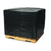 "PC140 Black Pallet Covers & Bin Liners, 3 MIL 51 x 49 x 73"" 3 Mil"