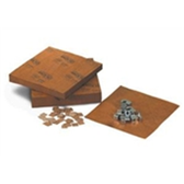 "VCI Sheets & Chips PVCICHIPS 1 x 1"" VCI Chips (25"