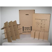 Dish Pack Partition MOVING BOXES  Product Number: BSDISHPART