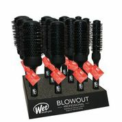 Wet Brush Pro Thermal Carbon Barrel  Blow Out Brush  12 pc Display-w