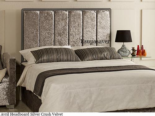head headboard suede leather itm bed designer velvet panama crushed ebay s chenille in