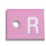 Custom Mammography Marker: single letter