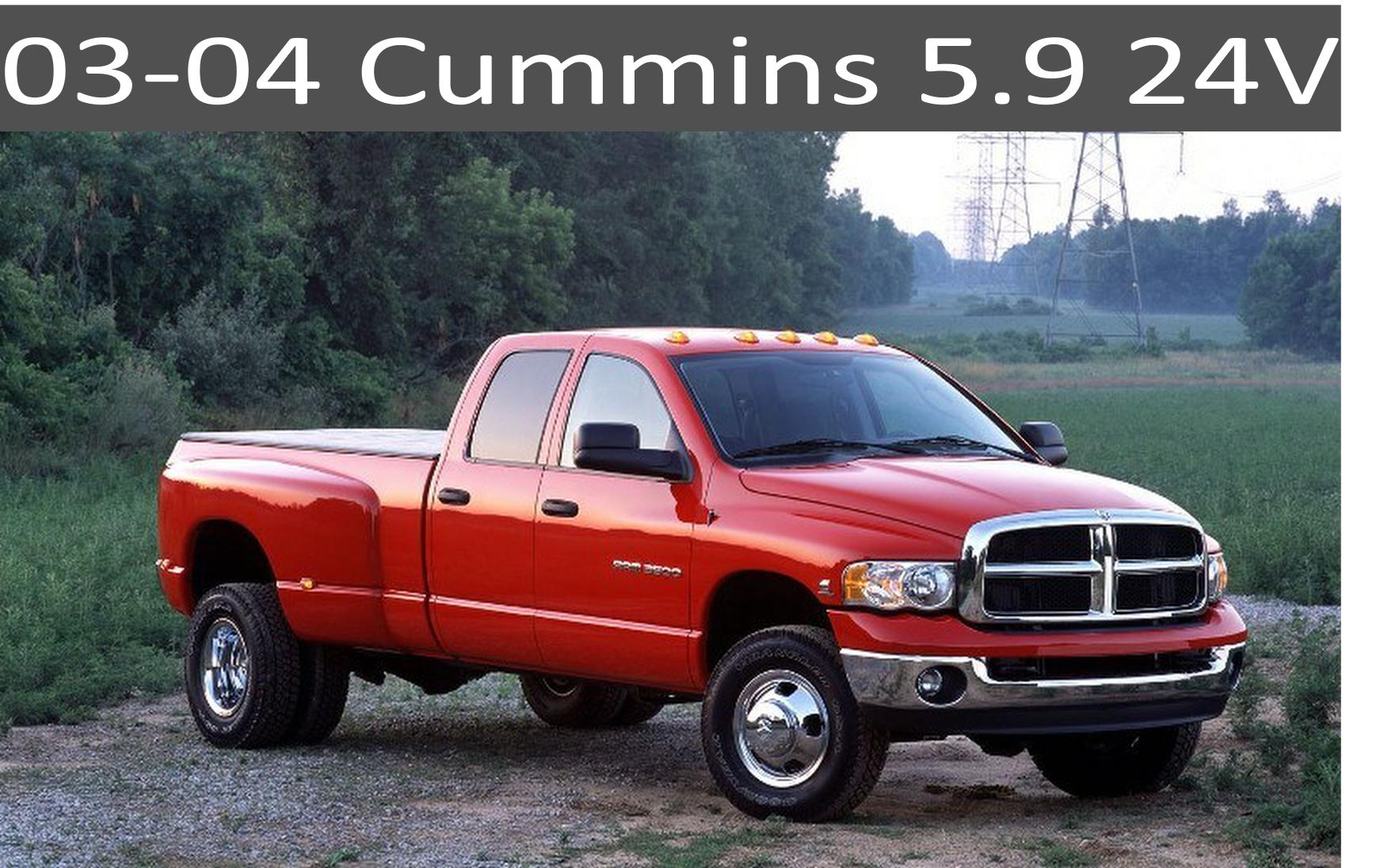 03-04 Dodge 5.9 Cummins parts
