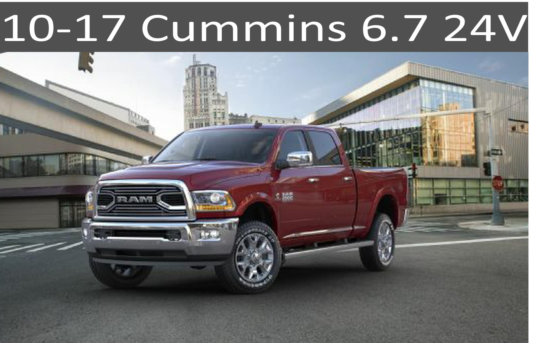 10-17 Dodge Cummins 6.7 Parts